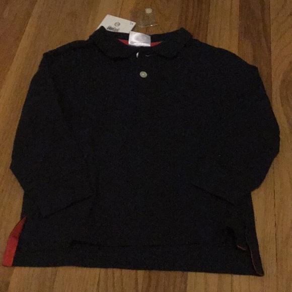 Hanna Andersson 90 Boys 3T POLO Shirt 100/% Cotton NEW Short Sleeve Navy Blue NWT